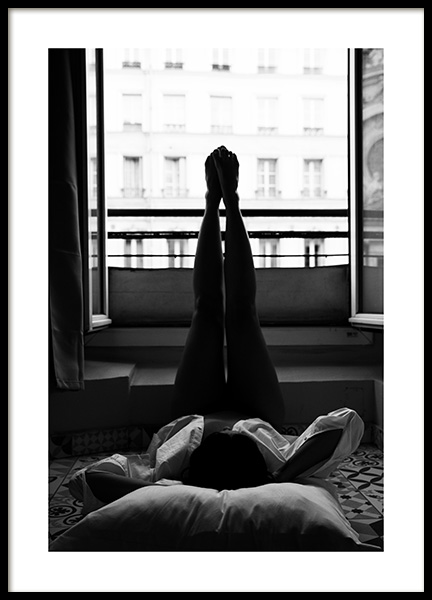 Paris Window Poster in the group Posters & Prints / Photography at Desenio AB (11531)