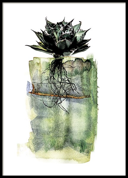 Agave Roots Poster in the group Posters & Prints / Art prints at Desenio AB (11564)