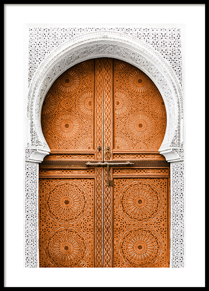 Ockra Door Poster in the group Posters & Prints / Photography at Desenio AB (11571)