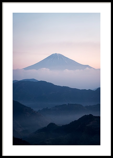 Mt. Fuji Poster in the group Posters & Prints / Nature at Desenio AB (11585)