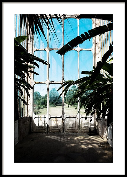 Window in Kew Garden Poster in the group Posters & Prints / Photography at Desenio AB (11592)
