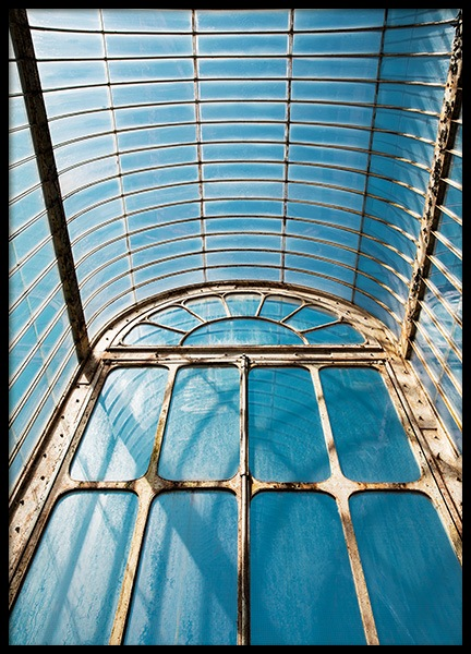 Ceiling in Kew Garden Poster in the group Posters & Prints / Sizes / 50x70cm | 20x28 at Desenio AB (11593)