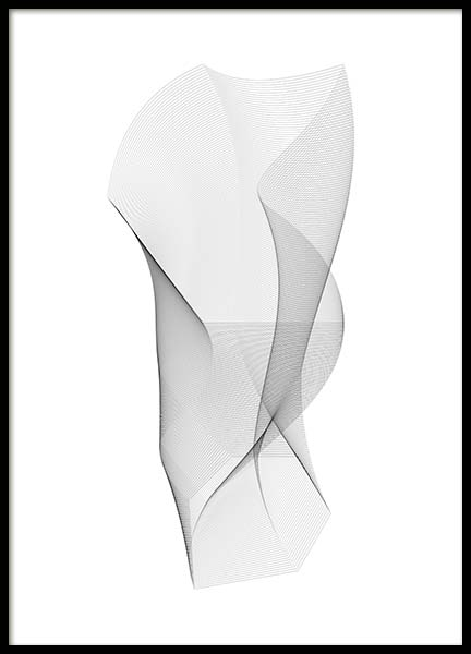 Sculpture Poster in the group Posters & Prints / Black & white at Desenio AB (11601)
