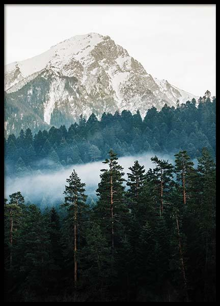 Mountain and Forest Poster in the group Posters & Prints / Nature at Desenio AB (11634)