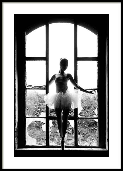 Window Ballet Poster in the group Posters & Prints / Fashion at Desenio AB (11701)