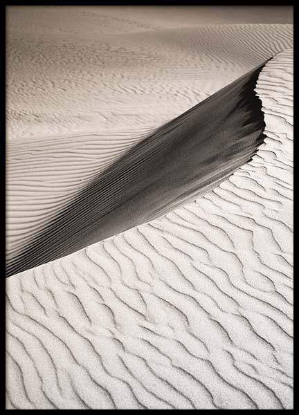 Sand Dune Landscape Poster