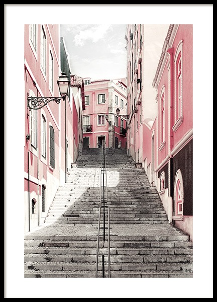 Street of Lisbon Poster in the group Posters & Prints / Photography at Desenio AB (11808)