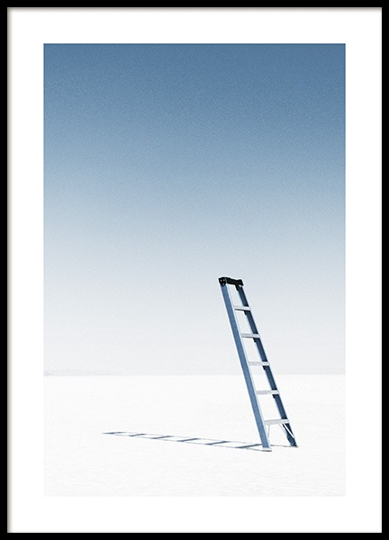 Ladder in Desert Poster in the group Posters & Prints / Nature at Desenio AB (11821)