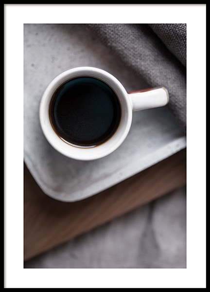 Coffee in Bed Poster in the group Posters & Prints / Kitchen at Desenio AB (11828)