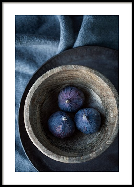 Figs on a Plate Poster in the group Posters & Prints / Kitchen at Desenio AB (11838)