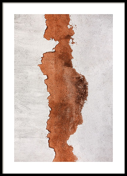 Flaking Paint Poster