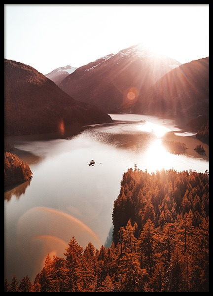 Diablo Lake Poster