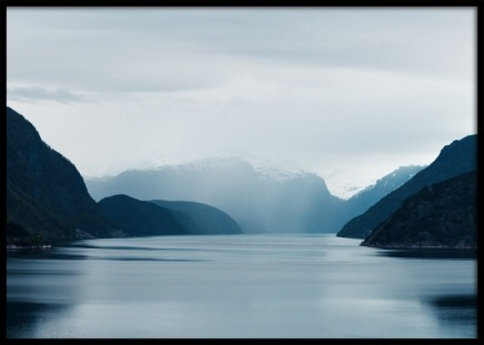 Norwegian Fjord Poster in the group Posters & Prints / Sizes / 30x40cm | 12x16 at Desenio AB (11876)