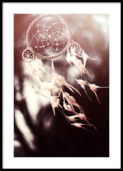 White Dreamcatcher Poster in the group Posters & Prints / Photography at Desenio AB (11887)