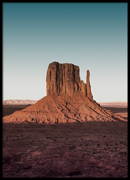 West Mitten Butte Poster in the group Posters & Prints / Nature at Desenio AB (11889)