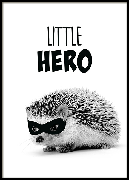 Little Hero Poster in the group Posters & Prints / Kids posters at Desenio AB (11907)