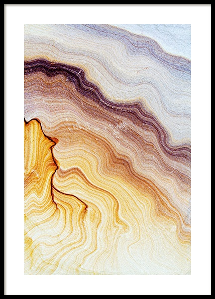 Sandstone Poster in the group Posters & Prints / Nature at Desenio AB (11926)