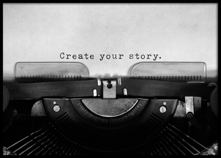 Create Your Story Poster in the group Posters & Prints / Text posters at Desenio AB (11952)