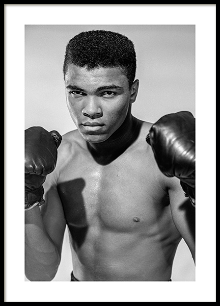 Muhammad Ali Poster in the group Posters & Prints / Iconic photos at Desenio AB (11963)