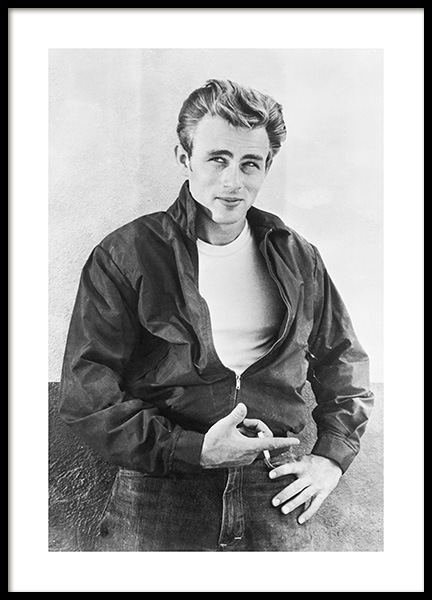 James Dean Poster in the group Posters & Prints / Sizes / 50x70cm | 20x28 at Desenio AB (11965)