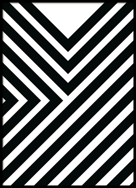 Diagonals Poster in the group Posters & Prints / Graphical at Desenio AB (11994)