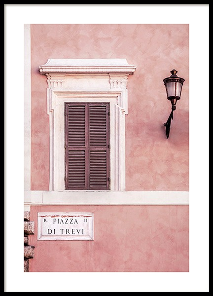 Piazza di Trevi Poster in the group Posters & Prints / Photography at Desenio AB (12012)