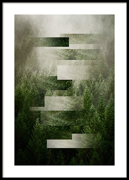Morning Mist Poster in the group Posters & Prints / Sizes / 50x70cm | 20x28 at Desenio AB (12082)