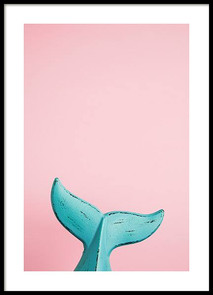 Whale Tail Poster in the group Posters & Prints / Photography at Desenio AB (12223)