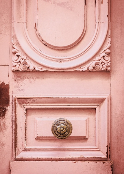 Pink Vintage Door Poster in the group Posters & Prints / Photography at Desenio AB (12259)
