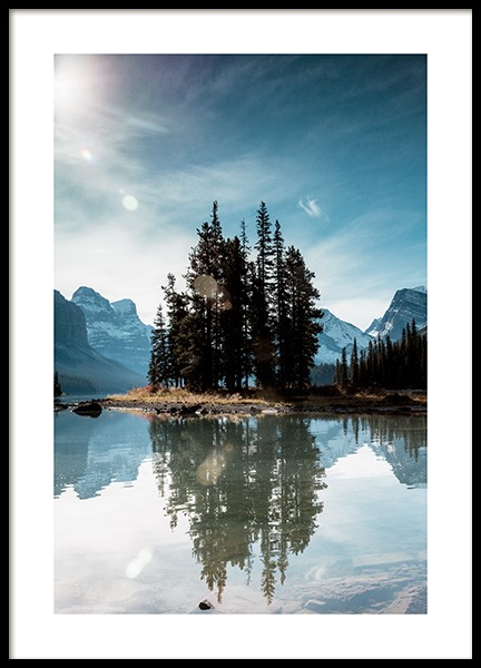 Spirit Island Poster in the group Posters & Prints / Nature at Desenio AB (12283)