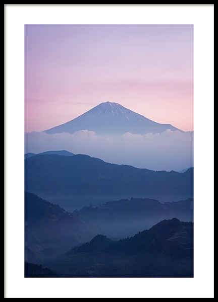 Mount Fuji Poster in the group Posters & Prints / Nature at Desenio AB (12287)