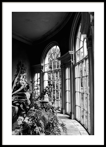 Garden of Light Poster in the group Posters & Prints / Black & white at Desenio AB (12293)