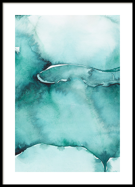 Abstract Watercolor No3 Poster in the group Posters & Prints / Art prints / Abstract art at Desenio AB (12368)