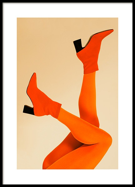 Orange Legs Poster in the group Posters & Prints / Photography at Desenio AB (12402)