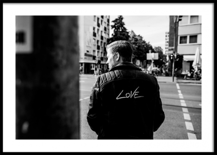 Love Jacket Poster in the group Posters & Prints / Photography at Desenio AB (12444)