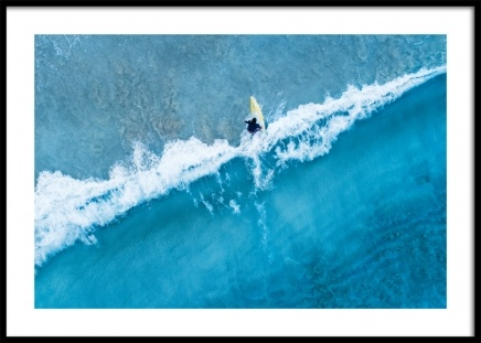 Catch a Wave Poster in the group Posters & Prints / Nature at Desenio AB (12458)