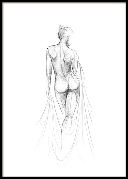 Morning Sketch Poster in the group Posters & Prints / Art prints at Desenio AB (12493)