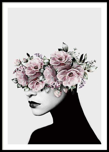 Flower Head Poster in the group Posters & Prints / Sizes / 50x70cm | 20x28 at Desenio AB (12496)