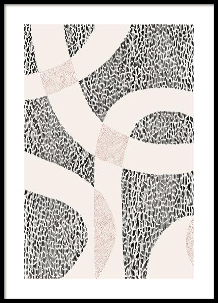 Dot Abstract No2 Poster