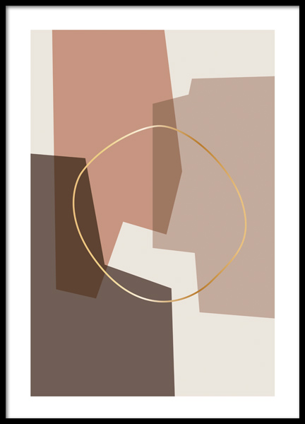 Abstract Composition Poster