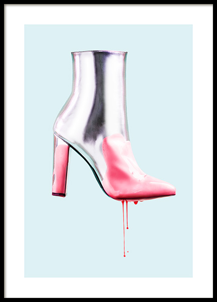 Dripping with Pink Poster in the group Posters & Prints / Fashion at Desenio AB (12526)