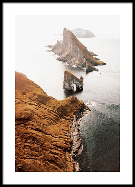 Faroe Island Poster in the group Posters & Prints / Nature at Desenio AB (12538)