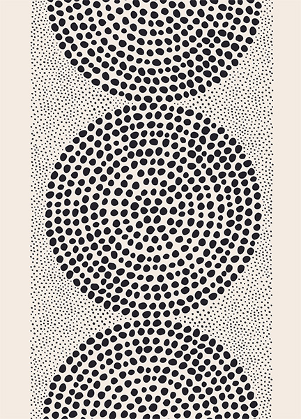 Dotted Pattern Poster in the group Posters & Prints / Art prints at Desenio AB (12571)