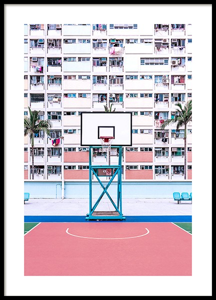 Basketball Hoop Poster in the group Posters & Prints / Photography at Desenio AB (12604)