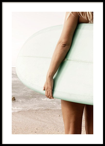 Surfboard Poster in the group Posters & Prints / Photography at Desenio AB (12638)