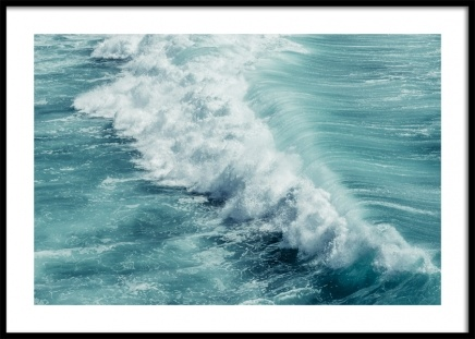 Turquoise Ocean Poster in the group Posters & Prints / Nature at Desenio AB (12641)