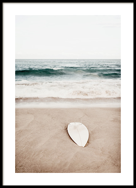 Surfing at Bondi Beach Poster in the group Posters & Prints / Nature at Desenio AB (12646)