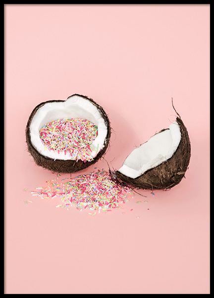 Coconut Sprinkles Poster in the group Posters & Prints / Kitchen at Desenio AB (12705)