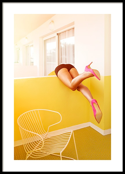 Legs Over Poster