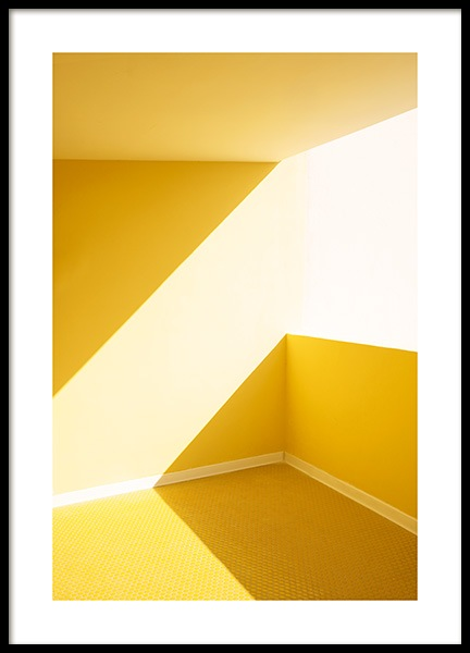 Yellow Balcony Poster in the group Posters & Prints / Photography at Desenio AB (12768)